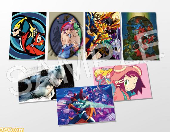 Postales de Capcom y Gaist Crusher