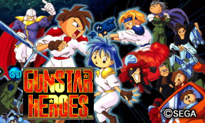 3D Gunstar Heroes disponible en la eShop